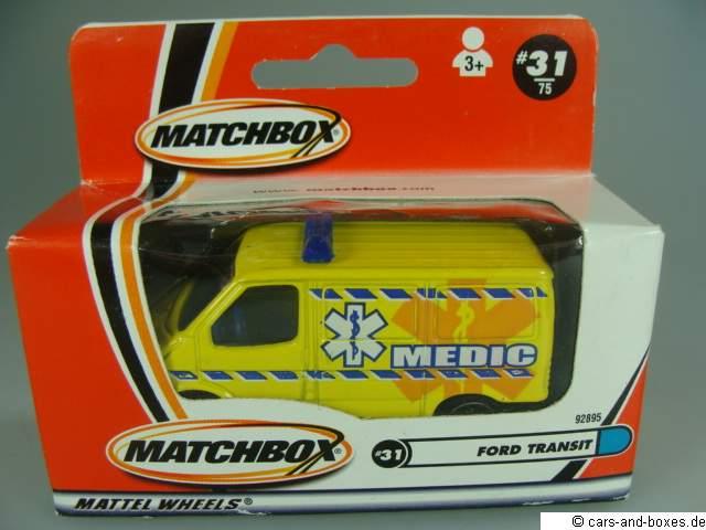Ford Transit Van Medic - 18453