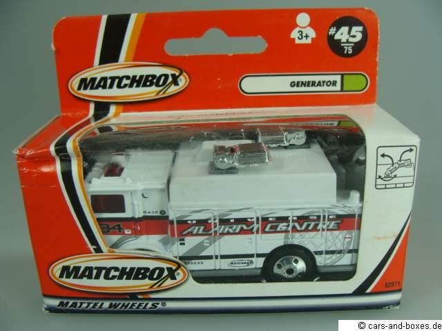 Mack Auxiliary Power Truck - 18461