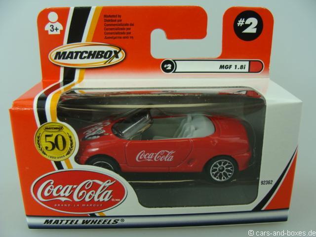 MGF 1.8i Cabrio Coca-Cola - 18714