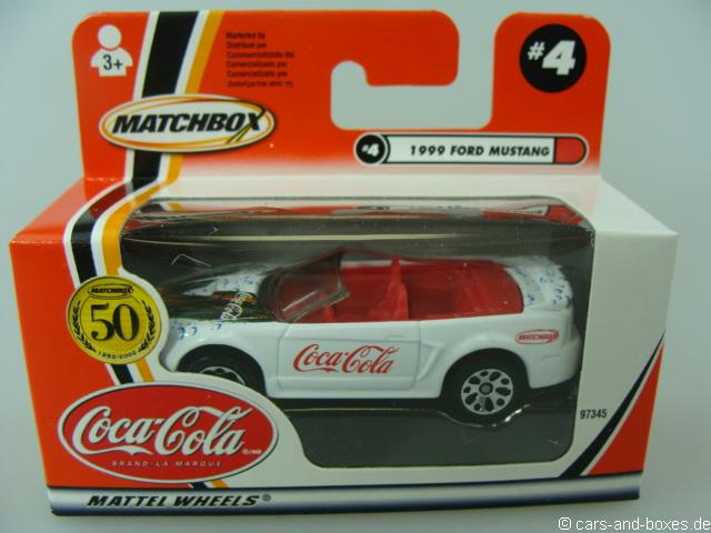 Ford Mustang Convertible Coca-Cola - 18716
