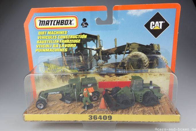 Caterpillar Set Dirt Machines - 19981