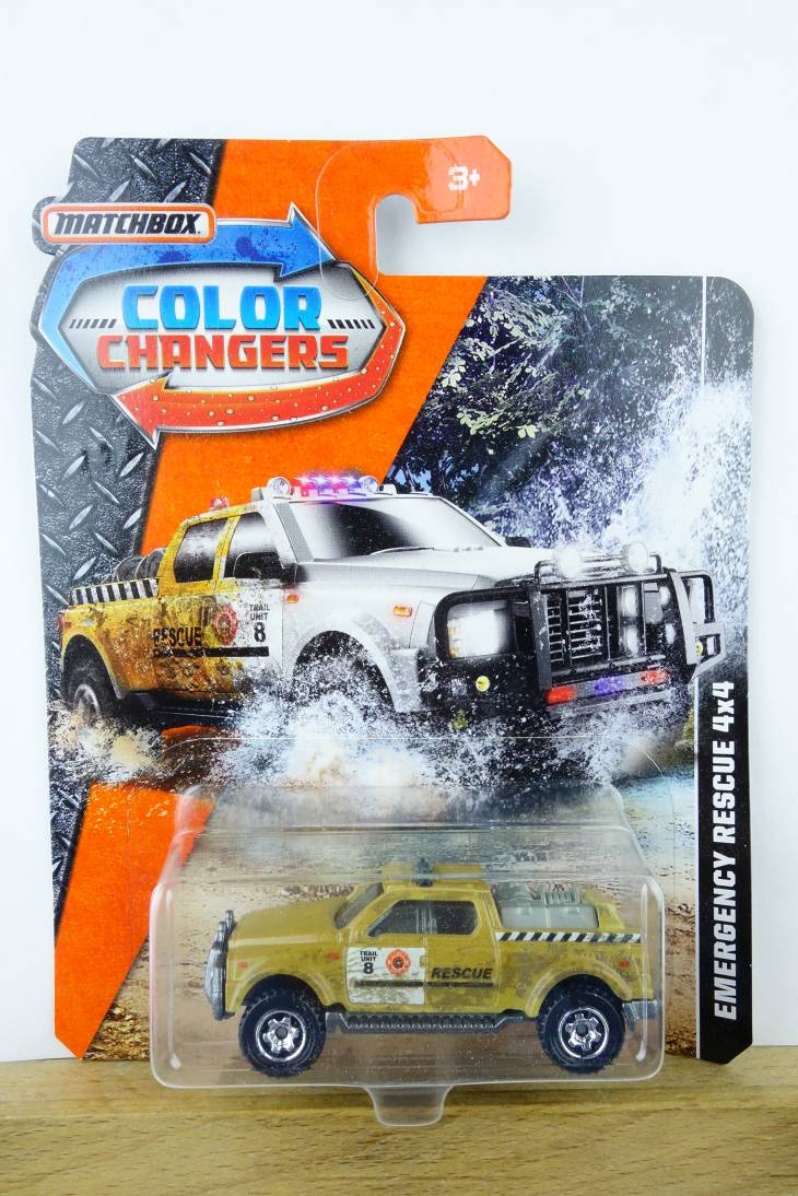 Emergency Rescue 4x4 - Color Changer - 19990