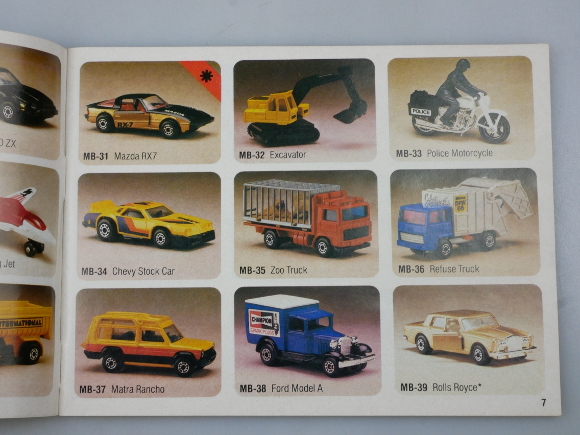 Matchbox Katalog 1983 Internationale Ausgabe fünfsprachig - 20022