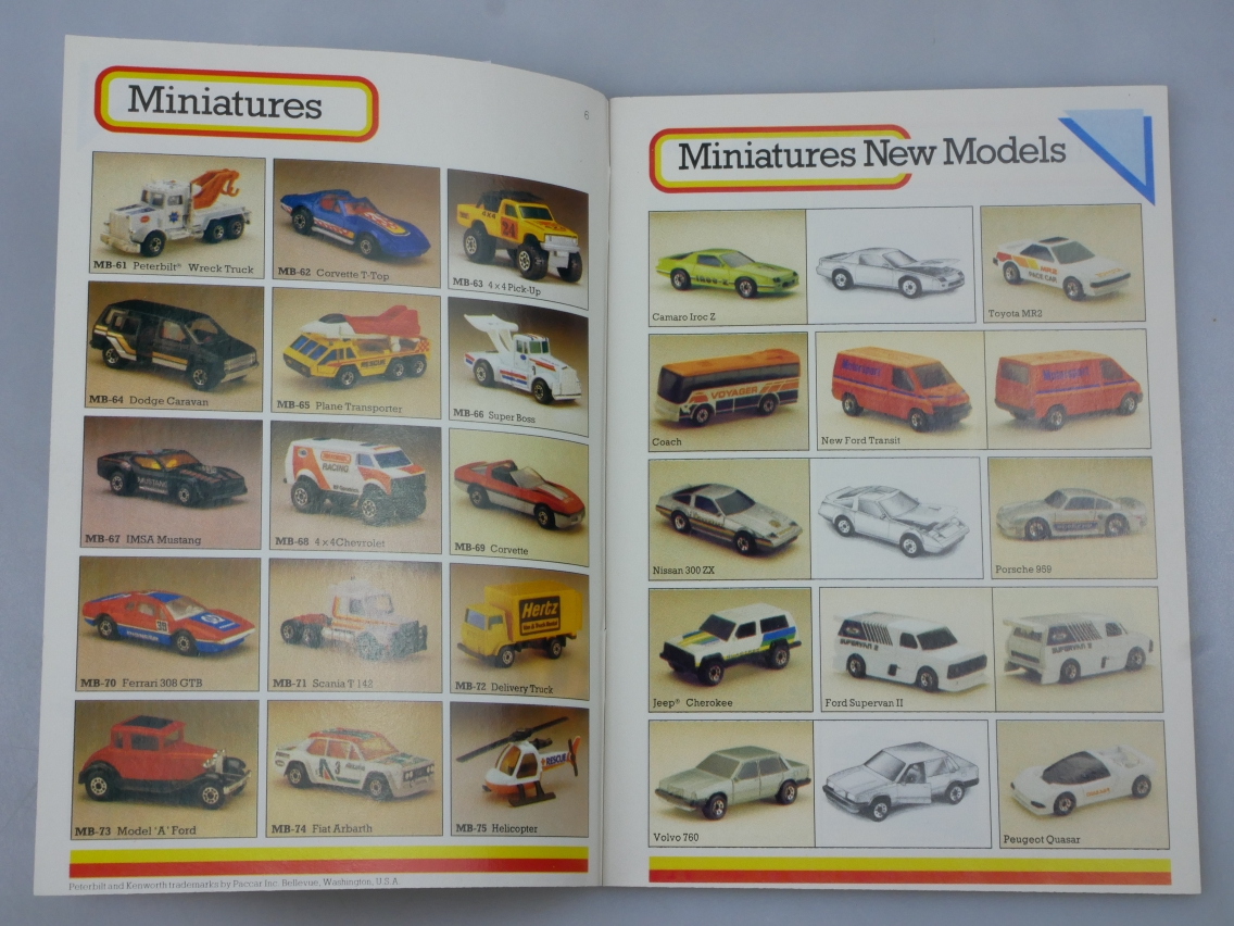 Matchbox Catalogue 1986  International - 20026