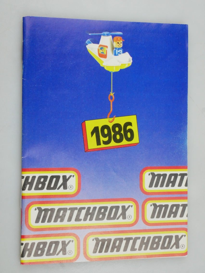 Matchbox Catalogue 1986  International (20026)