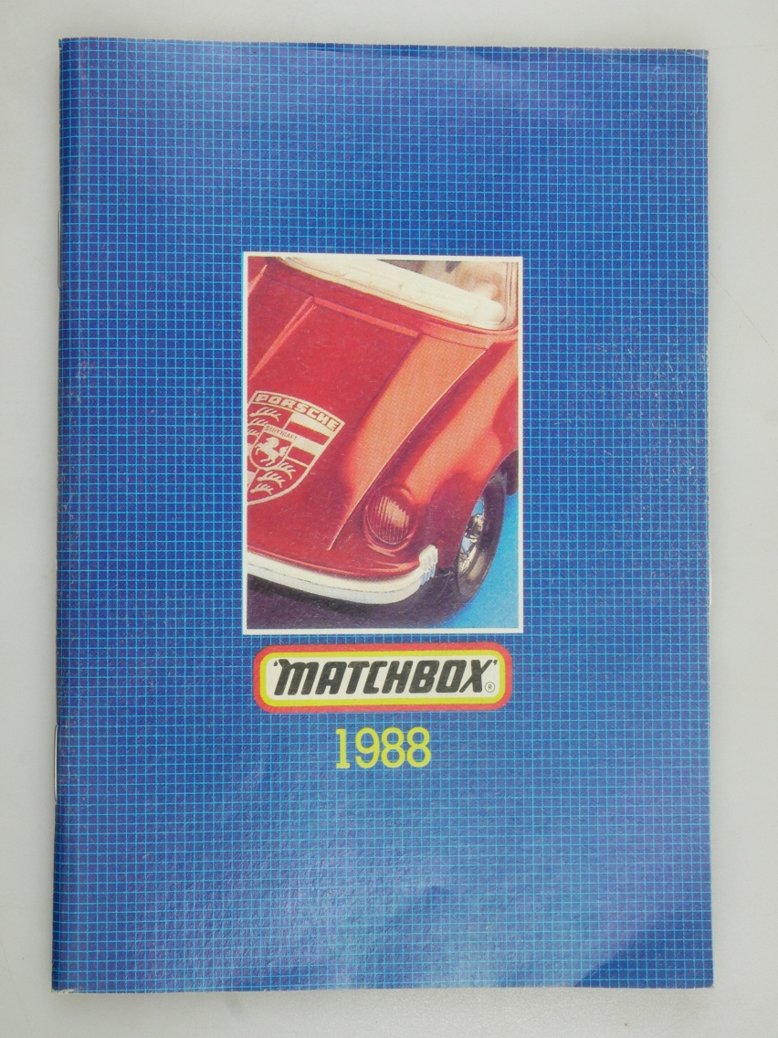 Matchbox Catalogue 1988  International - 20029