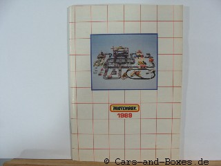 Matchbox Catalogue 1989  International engl. - 20030