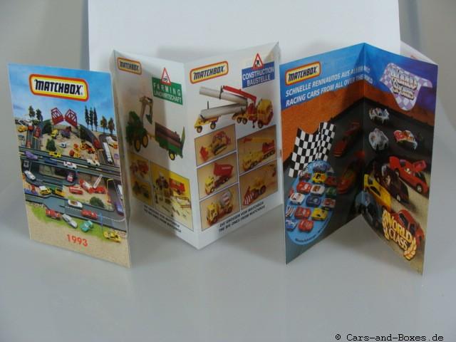 Matchbox Katalog 1993 deutsche Ausgabe - 20034