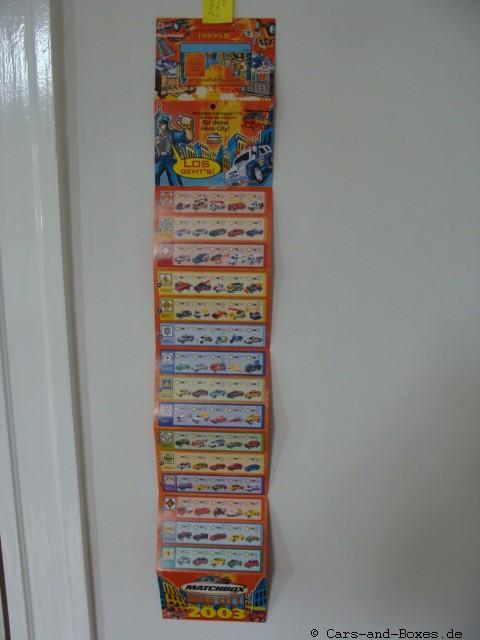 Matchbox Hero City Katalog 2003 deutsche Ausgabe - 20036