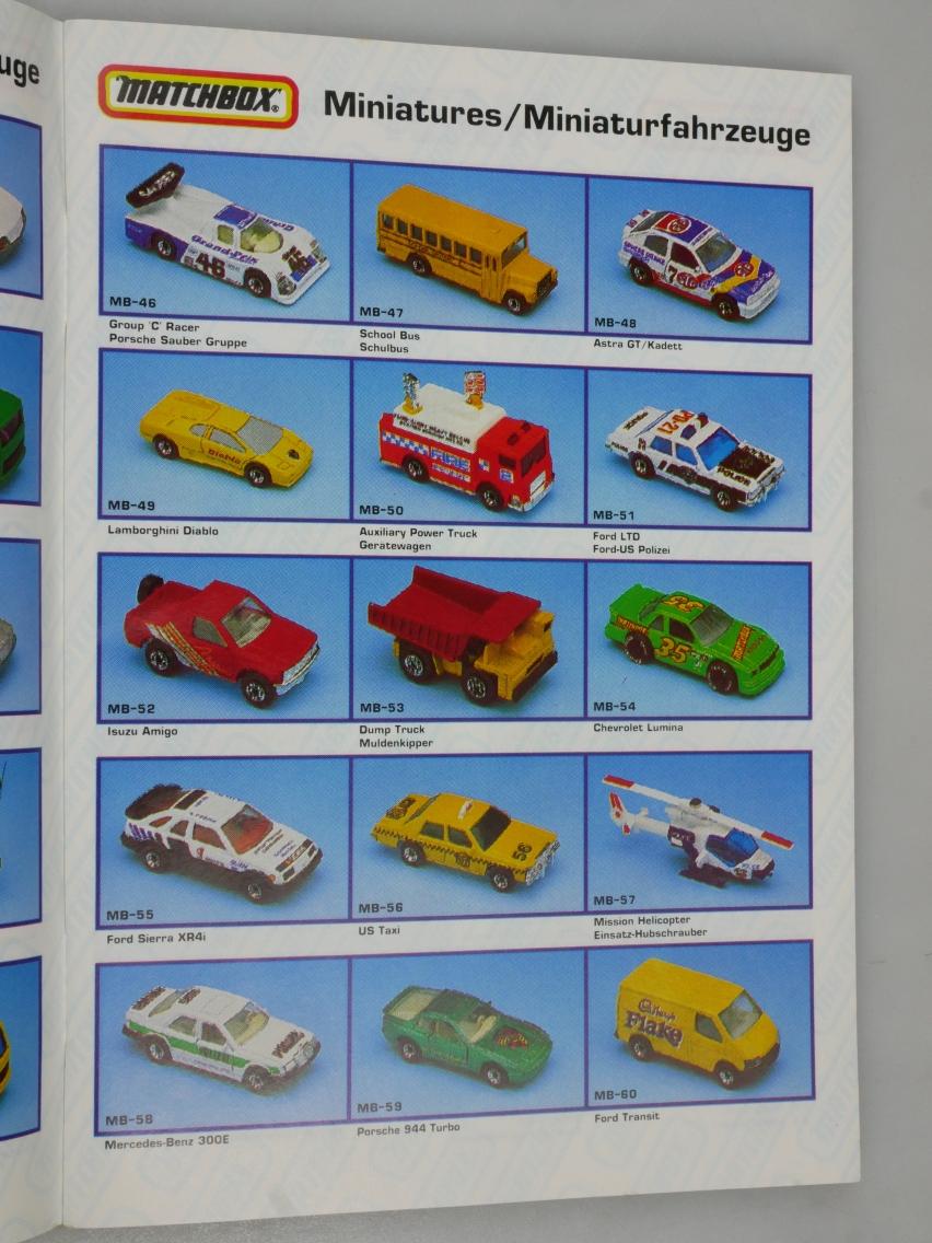 Matchbox Katalog 1992 deutsche Ausgabe - 20062