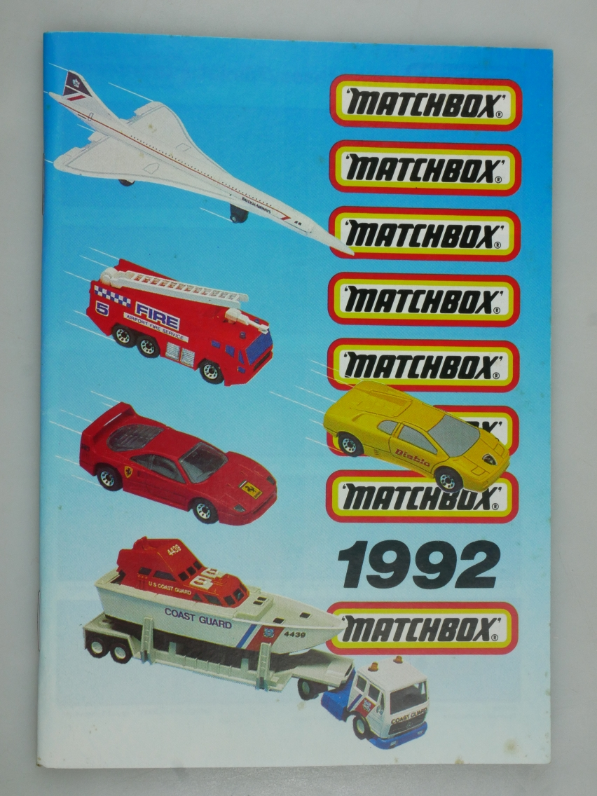 Matchbox Katalog 1992 deutsche Ausgabe (20062)
