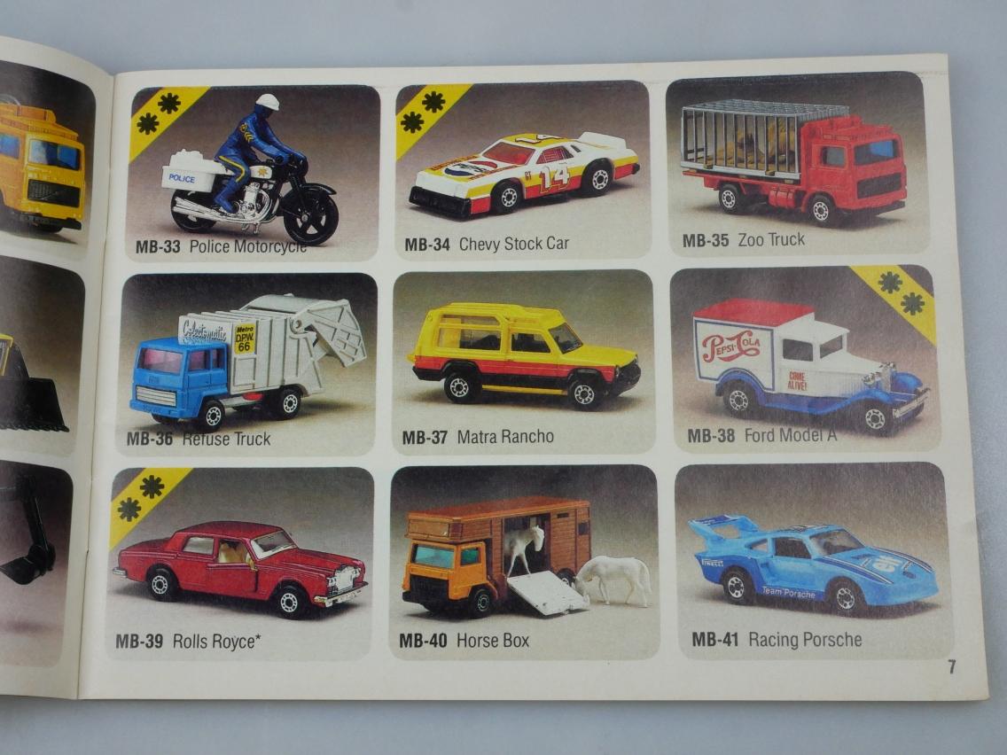 Matchbox 1984 internationale Ausgabe dreisprachig - 20140