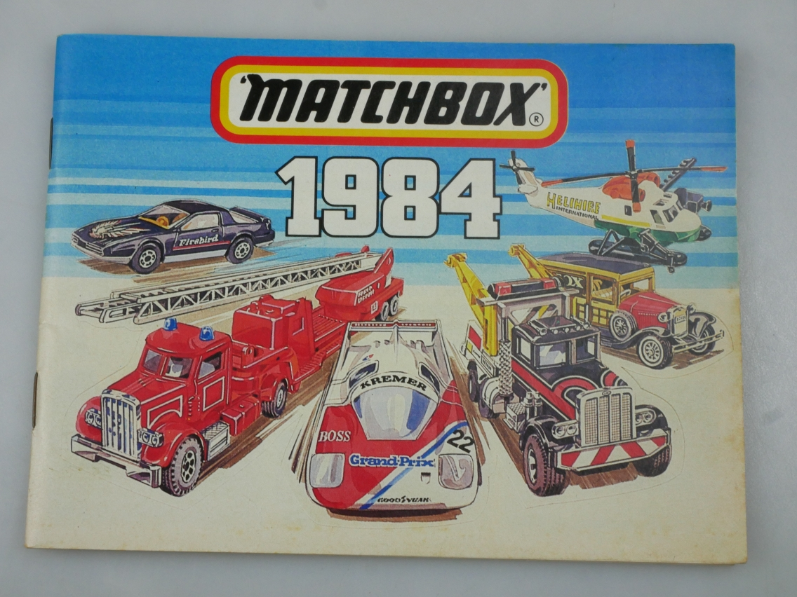 Matchbox 1984 internationale Ausgabe dreisprachig - 20140