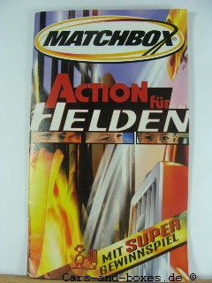 Matchbox Action für Helden Katalog 2003 (20149)