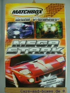 Matchbox Poster MB 1-75 Serie 2005 Deutschland - 20152