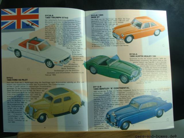 Matchbox Dinky Katalog 1992 (20185)