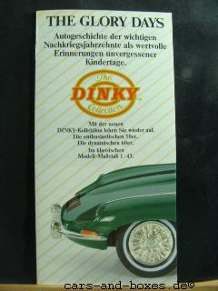 "Matchbox Dinky Katalog ""The Glory Days"" 1989 (20186)"