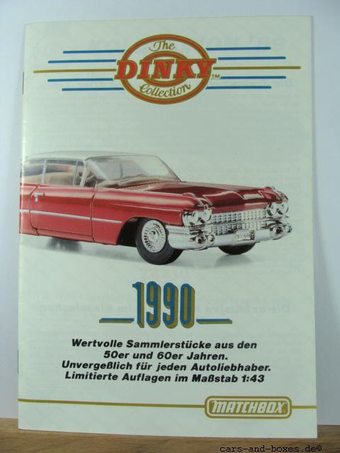 Matchbox Dinky Katalog 1990 (20187)