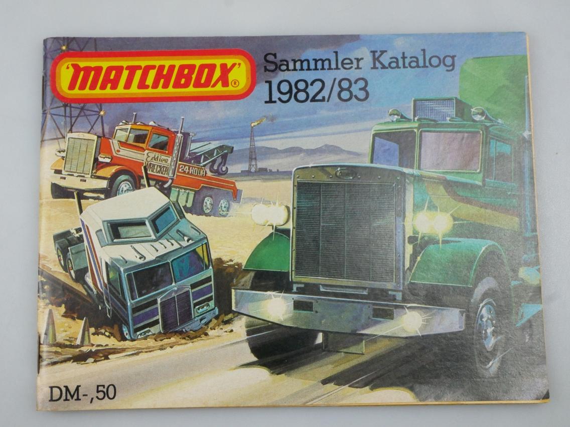Matchbox Sammler Katalog 1982/83 deutsche Ausgabe - 20220