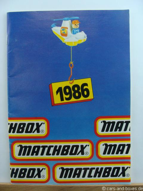 Matchbox Katalog 1986 deutsche Ausgabe - 20232
