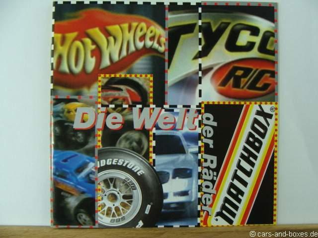 Matchbox Katalog 2000/01 Die Welt der Räder - 20270