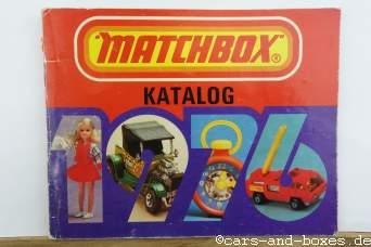Matchbox Katalog 1976 (DDR-Ausgabe)