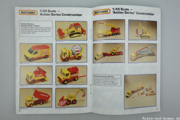 Matchbox Katalog 1991 International englisch - 20331