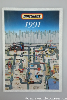 Matchbox Katalog 1991 International (englisch) (20331)