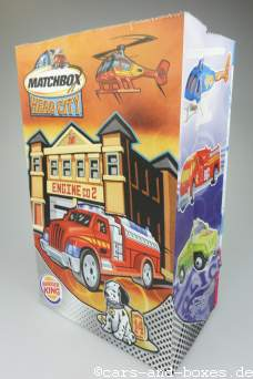 Matchbox Hero*City-Werbung auf Burger King-Tüte (20352)
