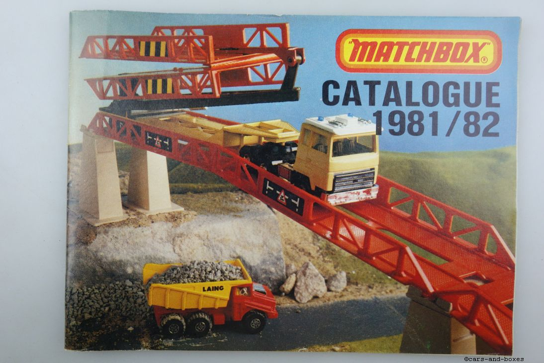 Matchbox Catalogue 1981/82 Edition français - 20457
