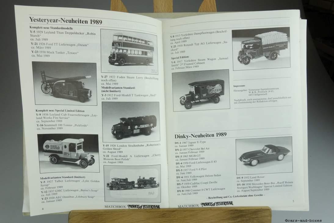 Models of Yesteryear Sammlermagazin 1988/3 - 20493
