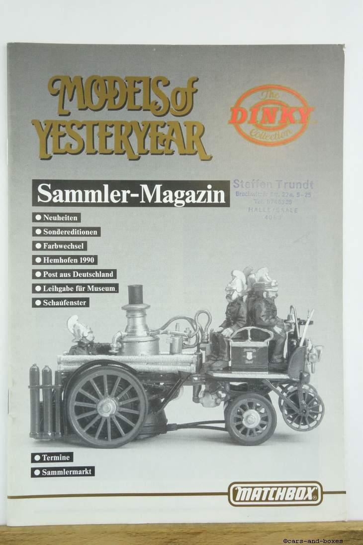 Models of Yesteryear Sammlermagazin 1990/1 (20495)