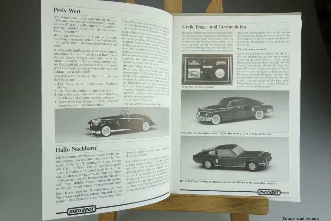 Models of Yesteryear Sammlermagazin 1990/2 - 20497