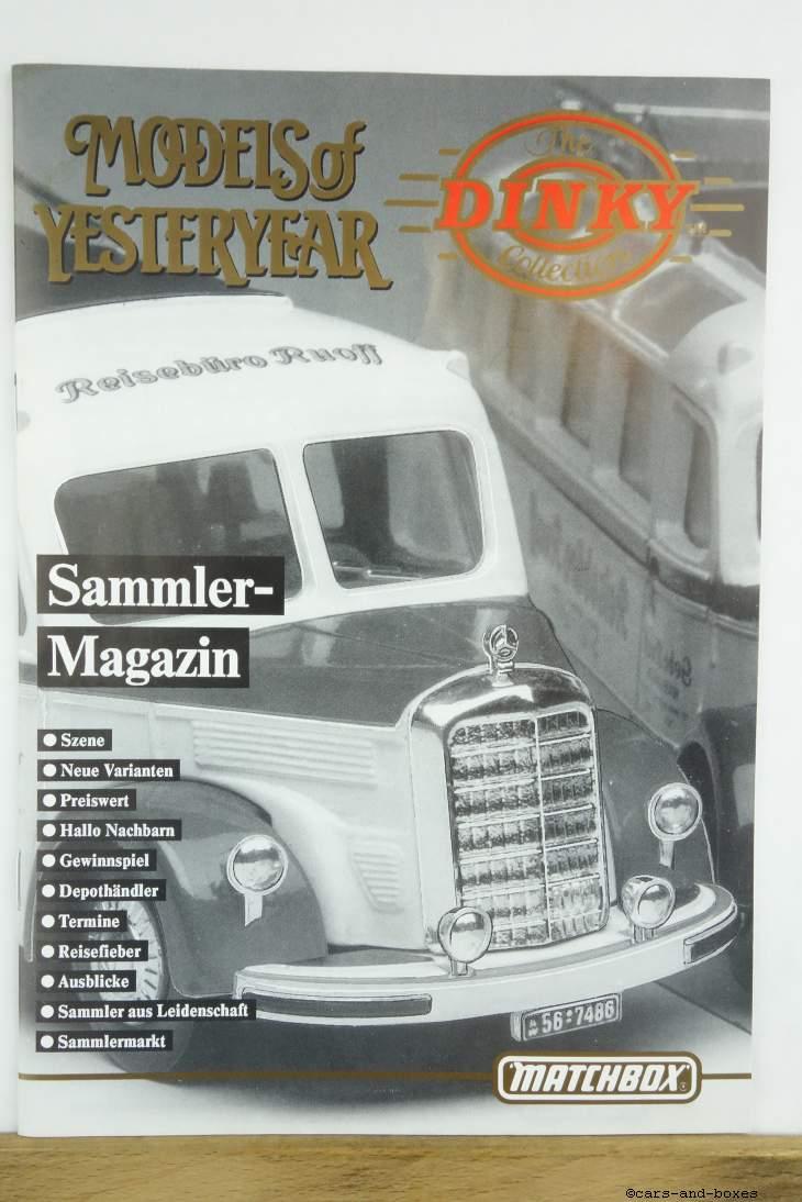Models of Yesteryear Sammlermagazin 1990/2 (20497)