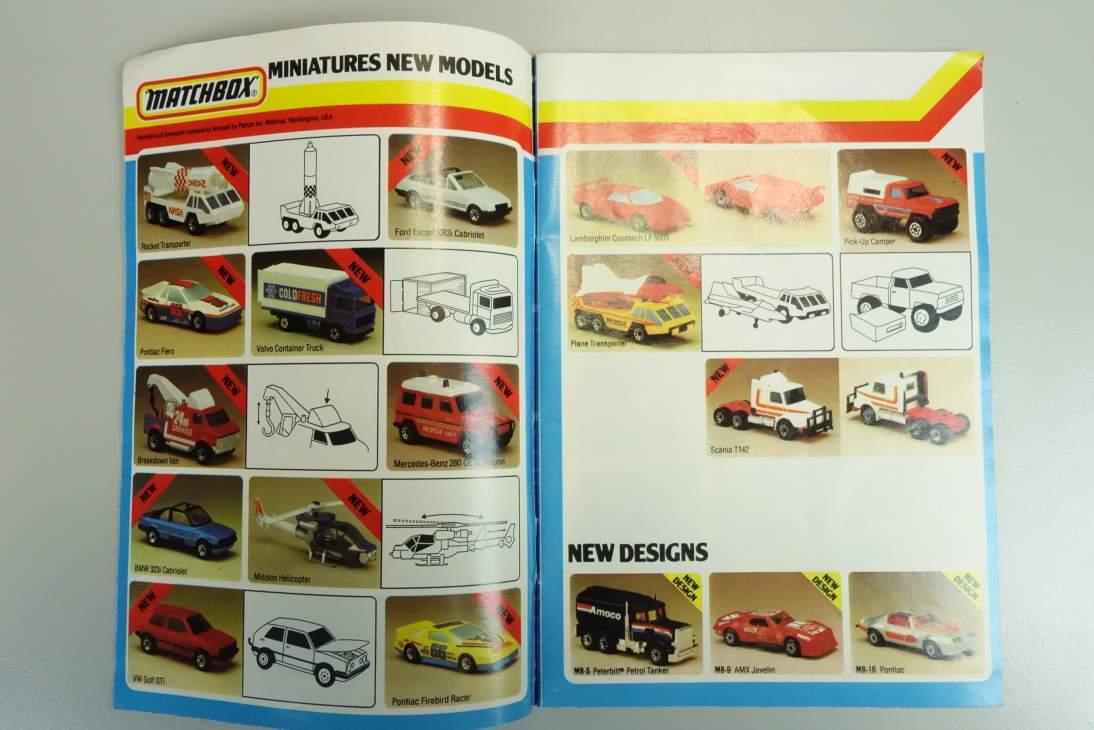 Matchbox Katalog 1985 (engl.) - 20523