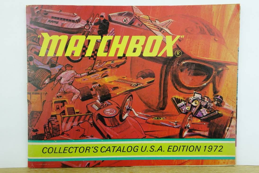 Matchbox Collector's Catalogue U.S.A. Edition 1972 - 20544