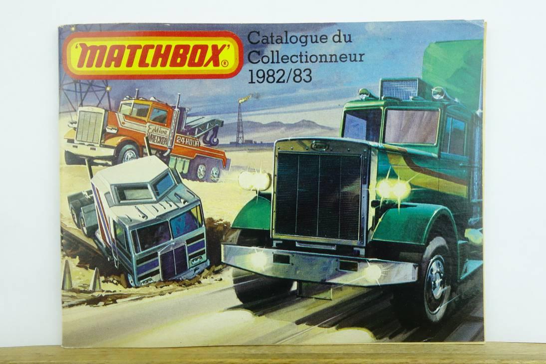 Matchbox Catalogue du Collectionneur 1982/83 (Édition français) - 20555