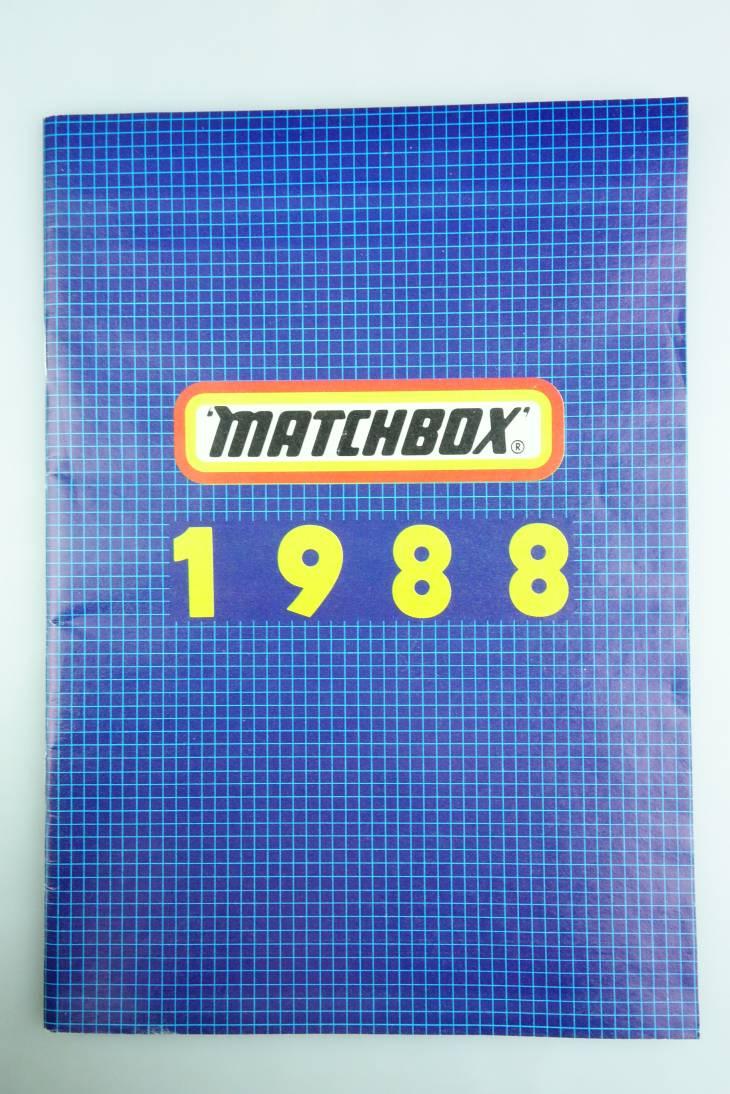 Matchbox Katalog 1988 (deutsche Ausgabe) - 20593