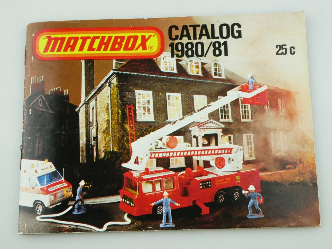 Matchbox Catalog 1980/81 USA Edition - 20664