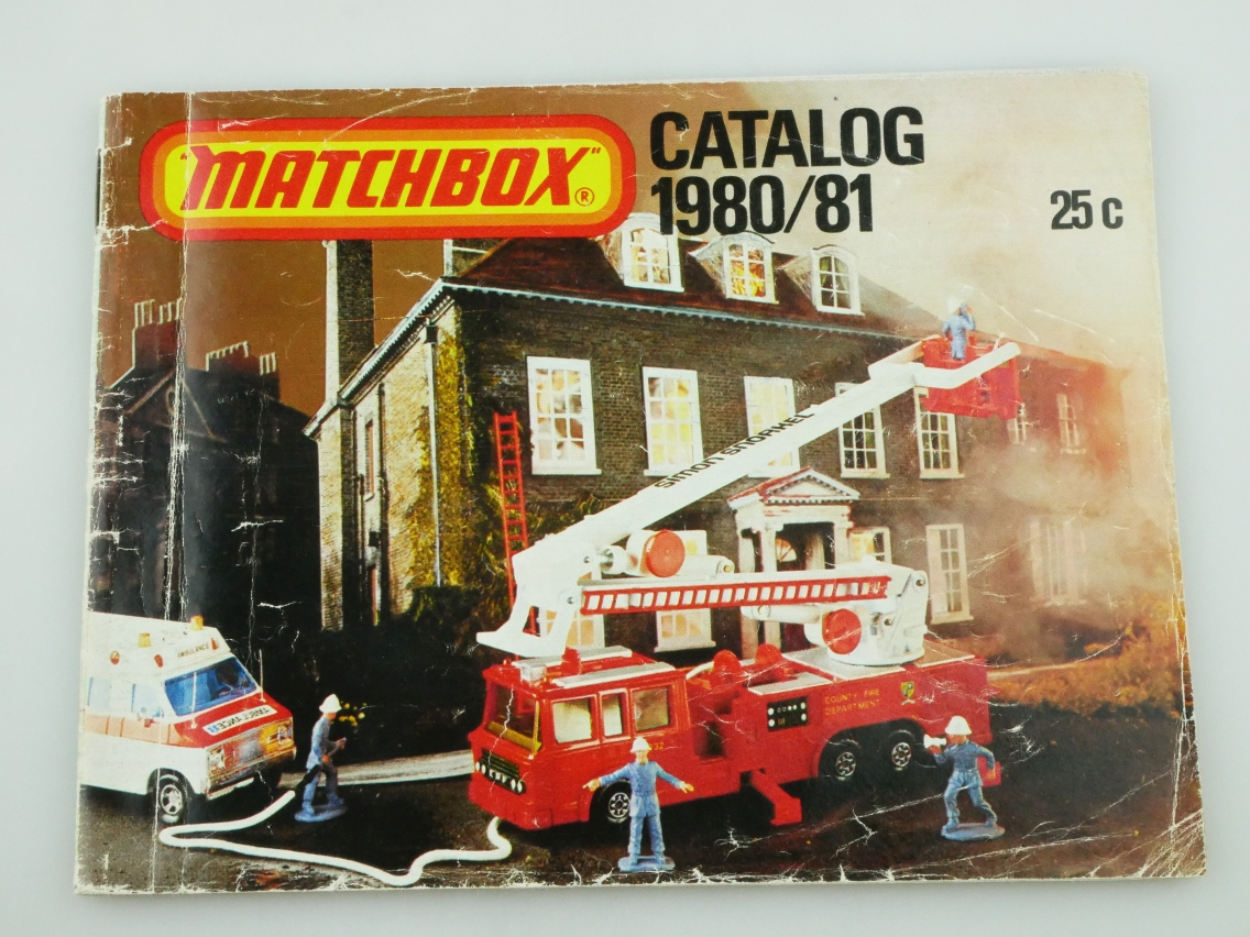Matchbox Catalog 1980/81 USA Edition - 20665