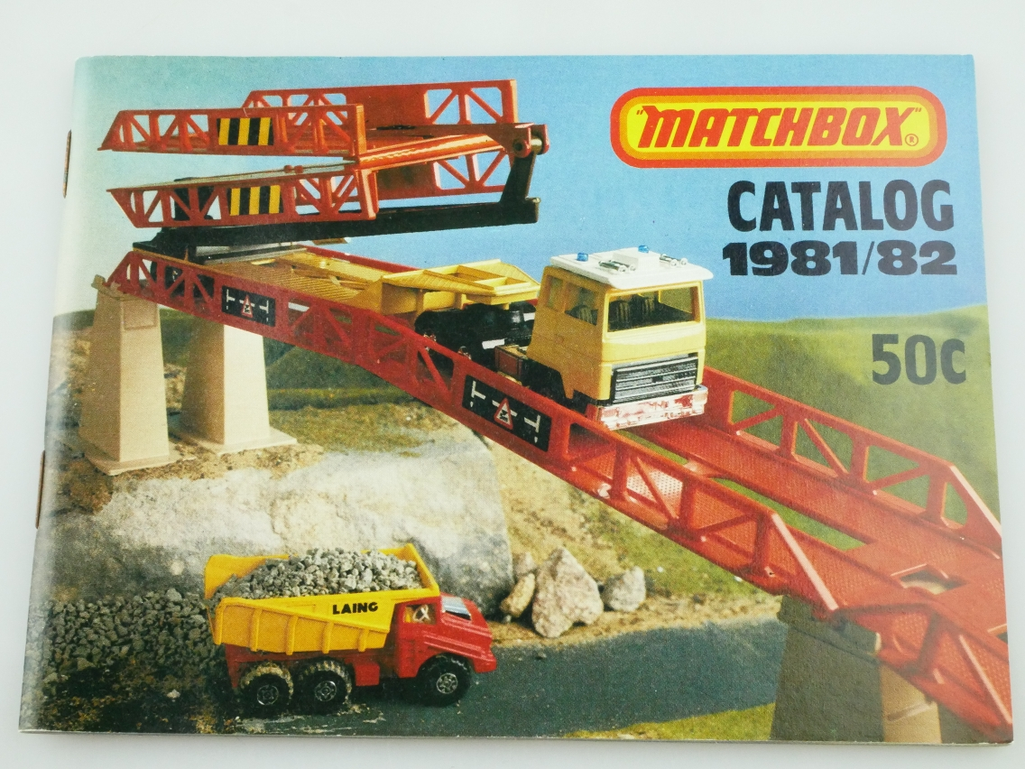 Matchbox Catalog 1981/82 USA Edition - 20666