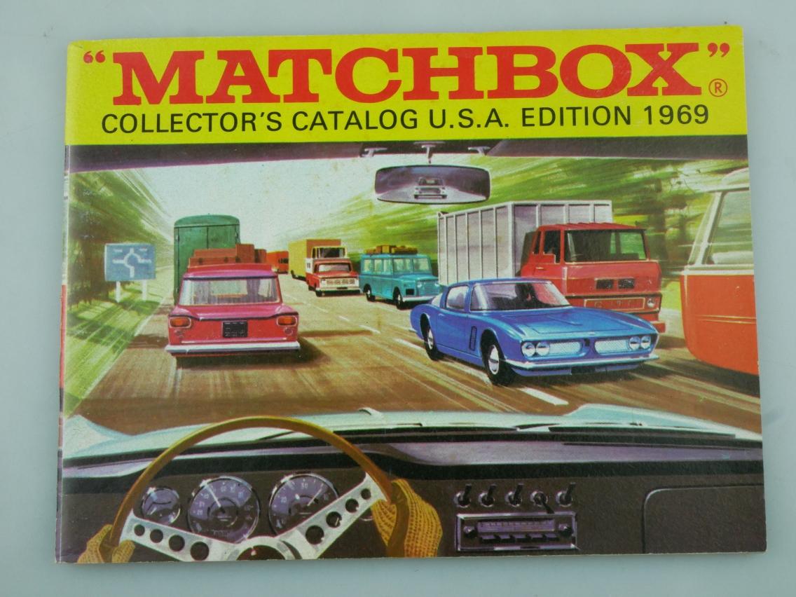 Matchbox Collector's Catalog U.S.A. Edition 1969 - 20755