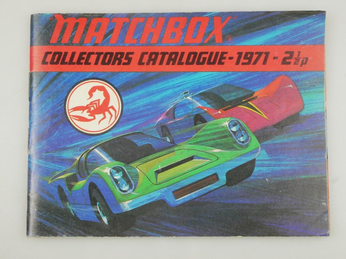 Matchbox Collectors Catalogue 1971 UK - 20785