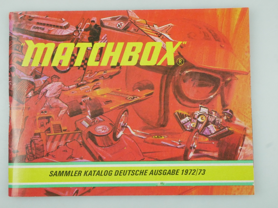 Matchbox Sammler Katalog Deutsche Ausgabe 1972/73 - 20786