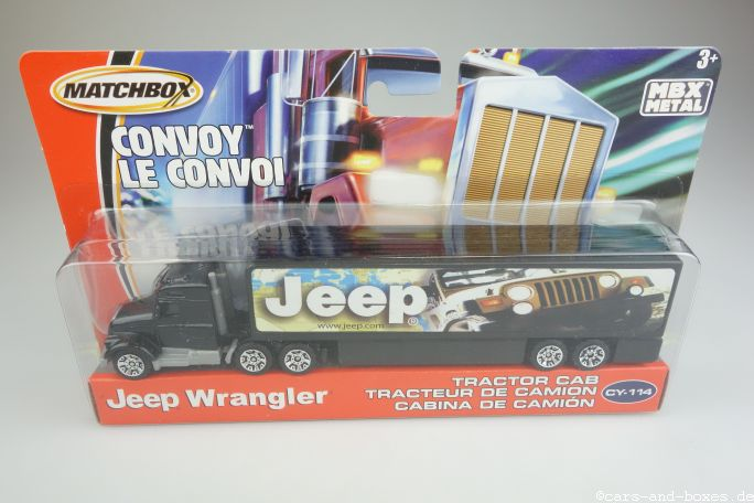 CY-114 Generic Tractor Cab JEEP WRANGLER - 26973