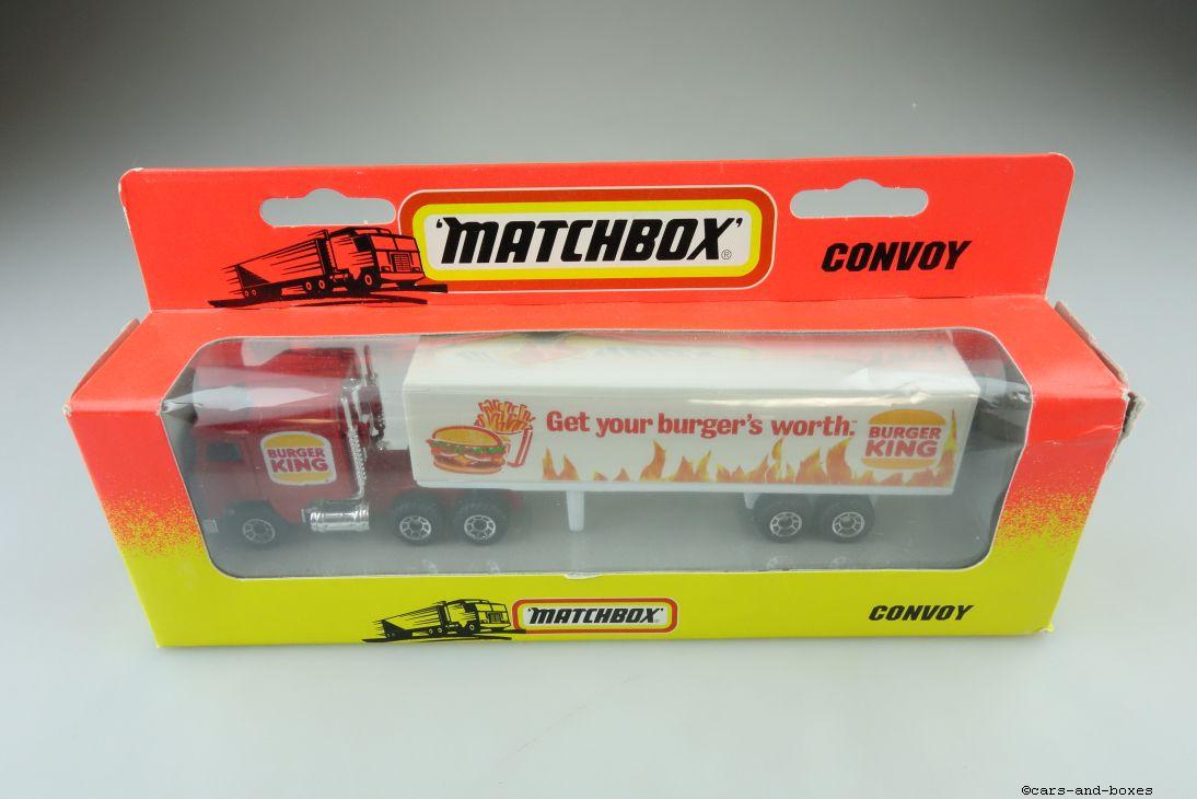 CY-008A Kenworth C.O.E. Box Truck BURGER KING - 27191