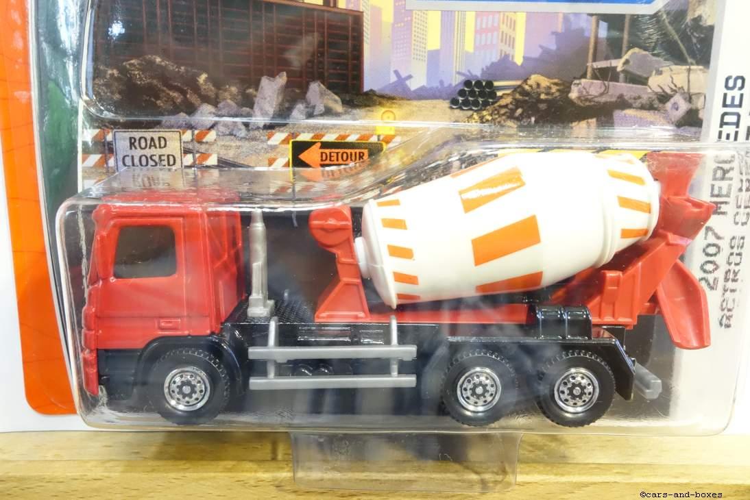 Mercedes Actros Cement Truck - 27259