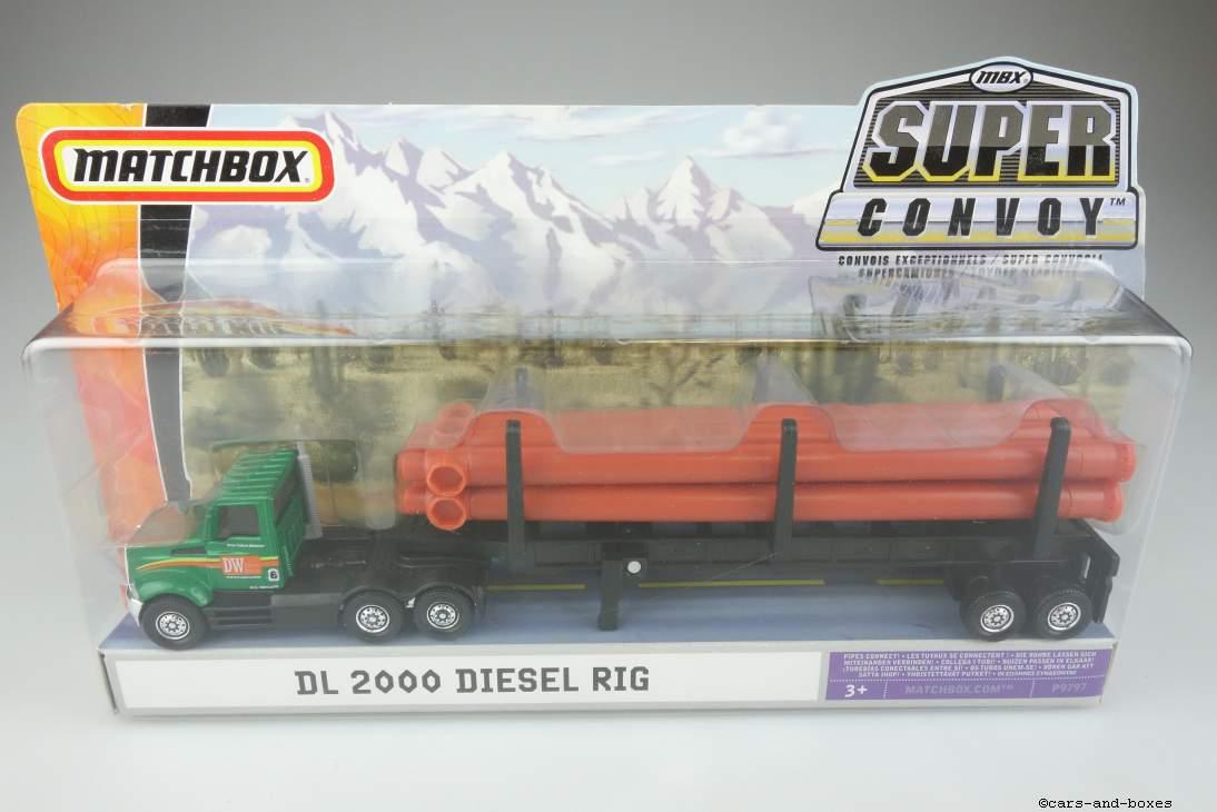 DL 2000 Diesel Rig & Pipe Hauler - 27265