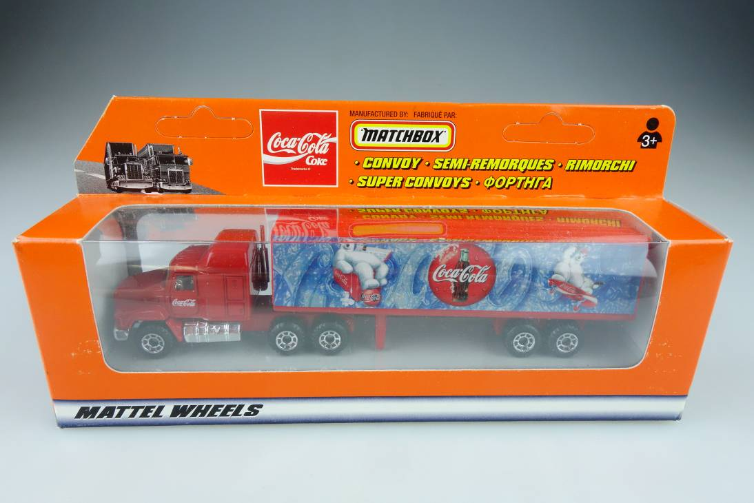 CY-027A Mack CH600 Container Truck Coca-Cola - 27314
