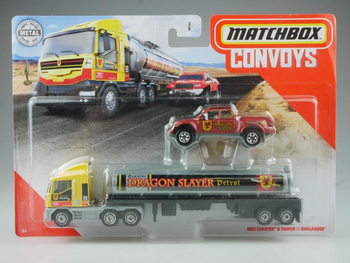 MBX Cabover & Tanker \\\ Badlander Convoys - 27403